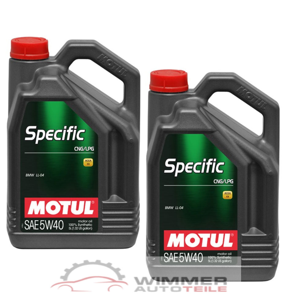 2x 5 liter motul specific cng lpg 5w40 motor l. Black Bedroom Furniture Sets. Home Design Ideas