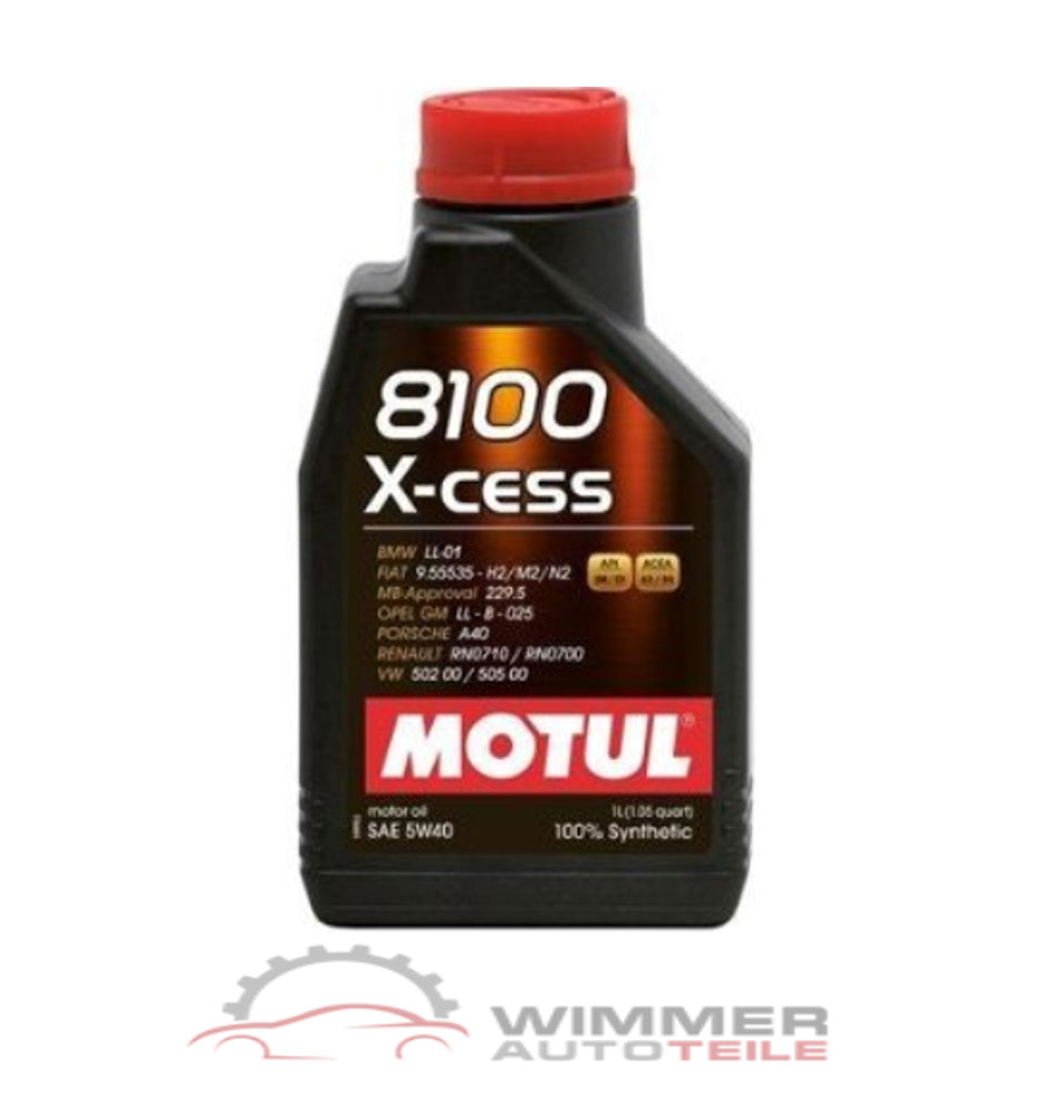 1x 1 liter motul 8100 x cess motor l 5w40 motoren l l. Black Bedroom Furniture Sets. Home Design Ideas