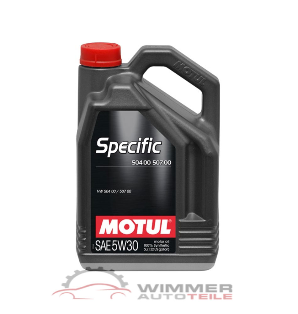 1x 5 liter motul specific 504 00 507 00 motor l 5w30 l. Black Bedroom Furniture Sets. Home Design Ideas