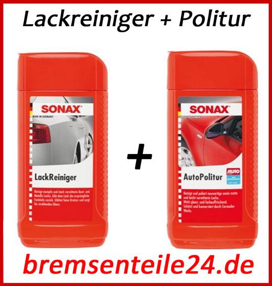 sonax lackreiniger 500ml sonax autopolitur 500ml ebay. Black Bedroom Furniture Sets. Home Design Ideas