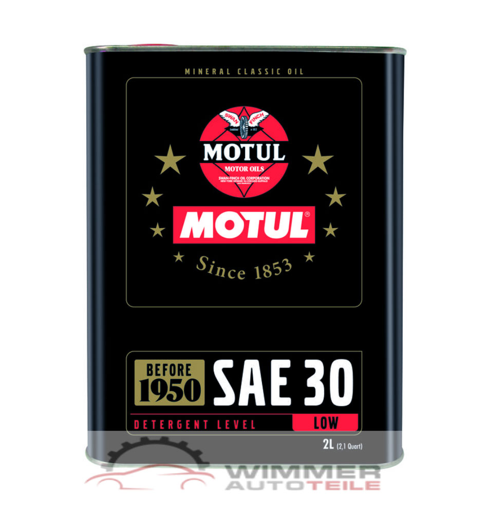 1x 2 liter motul sae 30 classic motor l f r oldtimer vor. Black Bedroom Furniture Sets. Home Design Ideas