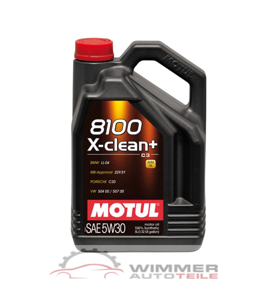 1x 5 liter motul 8100 x clean motor l 5w30 longlife l. Black Bedroom Furniture Sets. Home Design Ideas